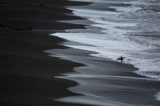 Surfing in Silver by bradboothphotography - Social Exposure Photo Contest Vol 13