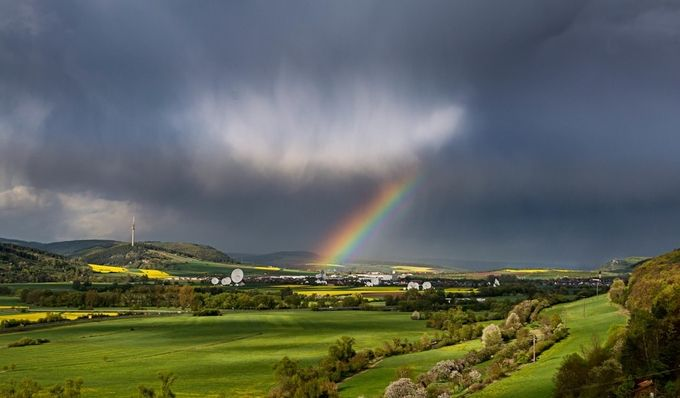 After Thunderstorm by alexpreyer - Rainbows Overhead Photo Contest