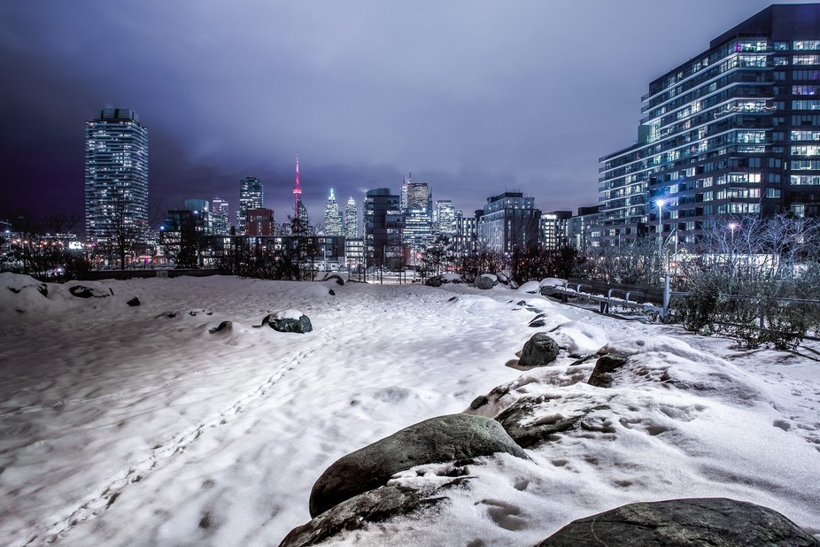 Looking West towards downtown Toronto