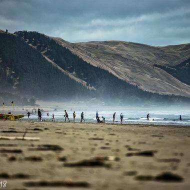 Ocean Beach, New Zealand.