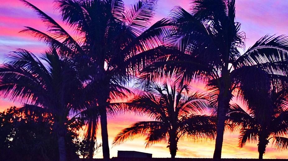 Sanabel Island, Florida sunset