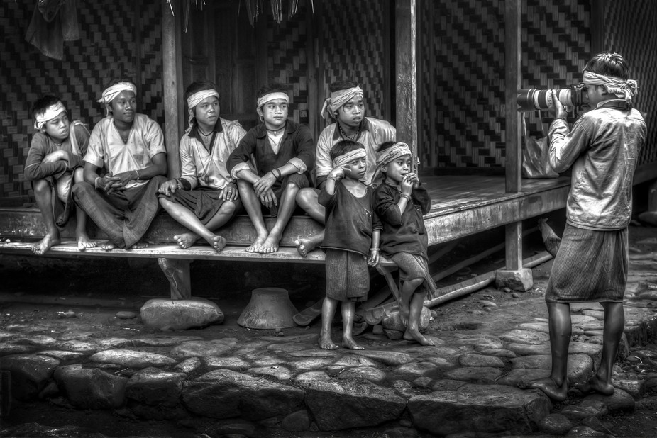 The kids of tribe baduy in Banten Indonesia, who has no contact about modern technology, I borrow...