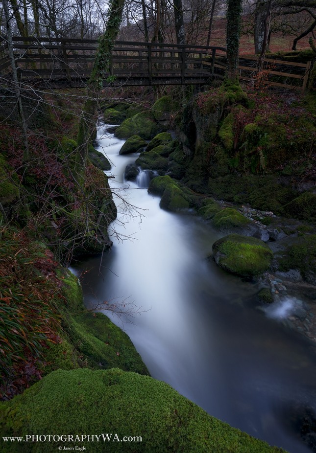 Stream_WoodenBridge by WAeagle - Streams In Nature Photo Contest