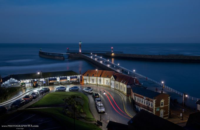 Whitby_Lighthouse by WAeagle - Photogenic Villages Photo Contest