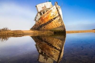 Shipwreck Reflection