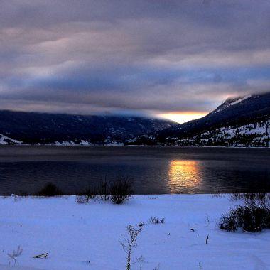 Nicola Lake near Merritt B C