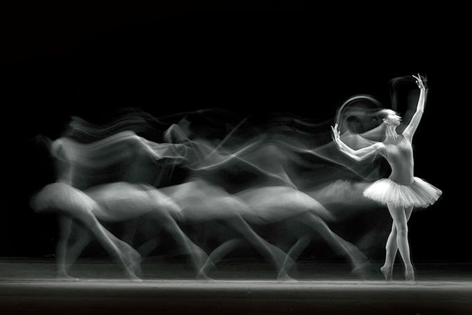 The Art of Balerina by antonb - Long Exposure Experiments Photo Contest