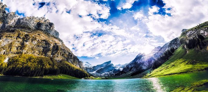 Seealpsee switzerland by FabioHimmelstoss - Covers Photo Contest Vol 44