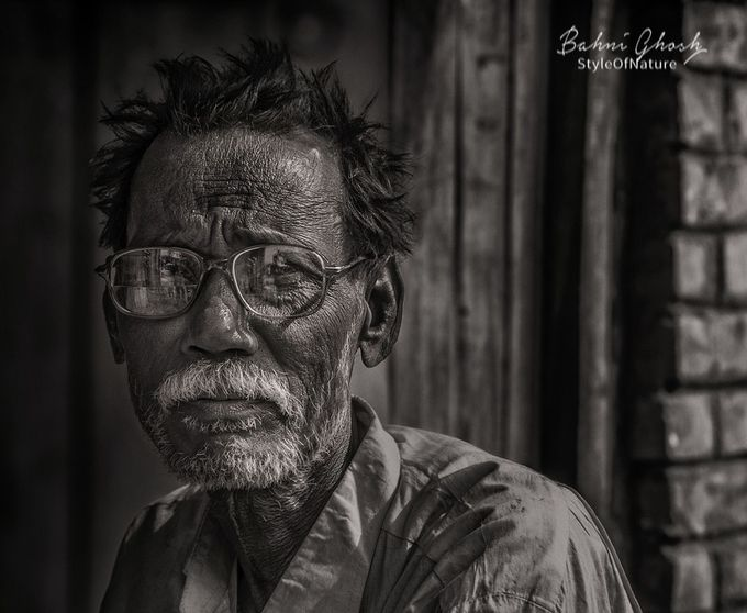 OldMan by Bonny-BahniGhosh - Image Of The Month Photo Contest Vol 29