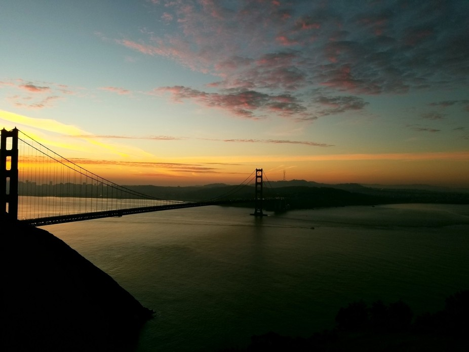 Taken from the Marin headlands with my phone