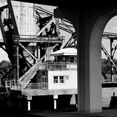 1792 Bridge Volusia Seminole County Split and Train Draw Bridge