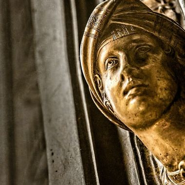 Still looking, there, from the doors of the Baptesterium, in Florence, Italy