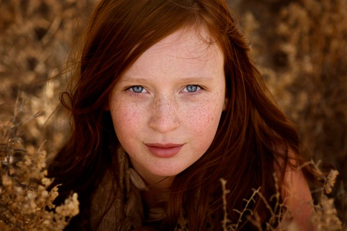 Freckles by ericakinsella - Faces With Freckles Photo Contest