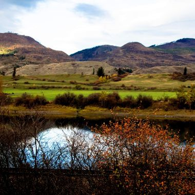 This is the Thompson River between Kamloops and Chase