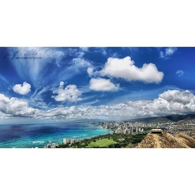 Awesome view from Diamond Head Crater
