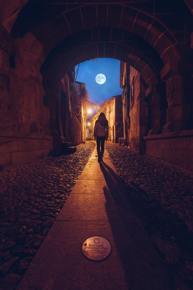 Blue Moon by pedroquintela - Composing With Circles Photo Contest