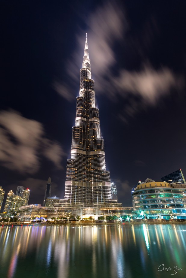 Burj Khalifa at Blue Hour by christophersalerno - Tall Structures Photo Contest