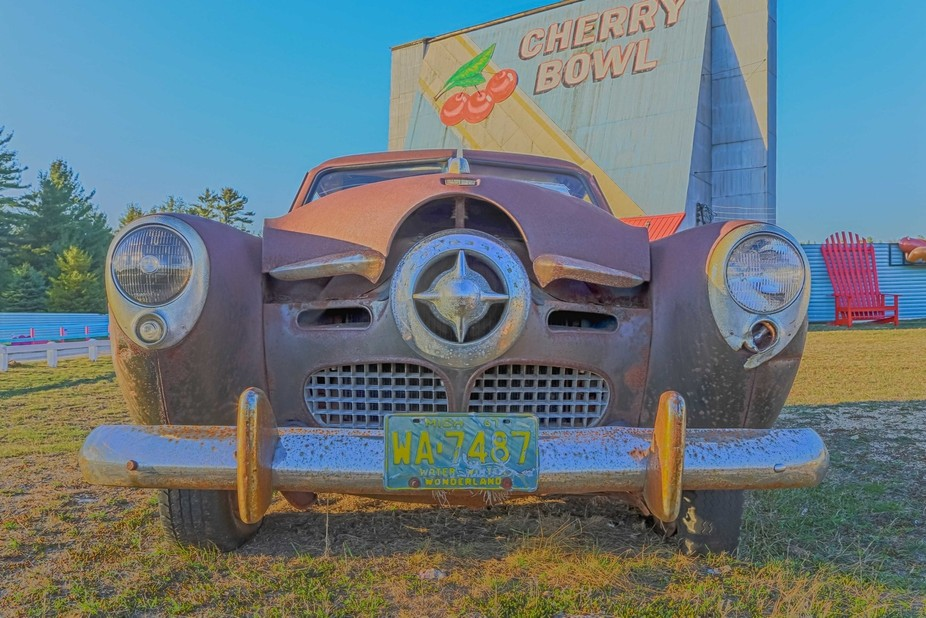 Cherry Bowl Drive-In near Traverse City Michigan