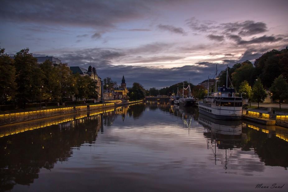 Turku river - Finland