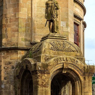 Wallace Statue at The Steeple