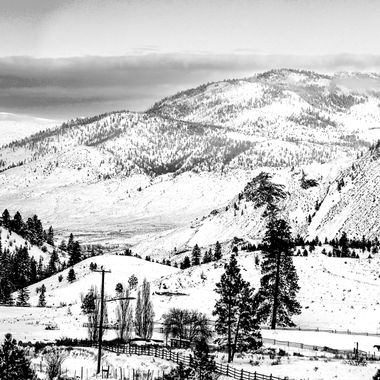 This is a view from the hill by Knutsford just south of Kamloops