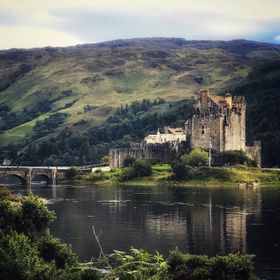 The mysterious and beautiful Eilean Donan Castle in Scotland