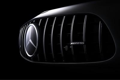 Mercedes-Benz detail photo.