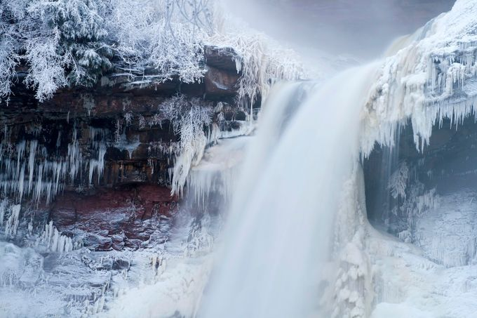 force of nature by fern29 - Winter Long Exposures Photo Contest