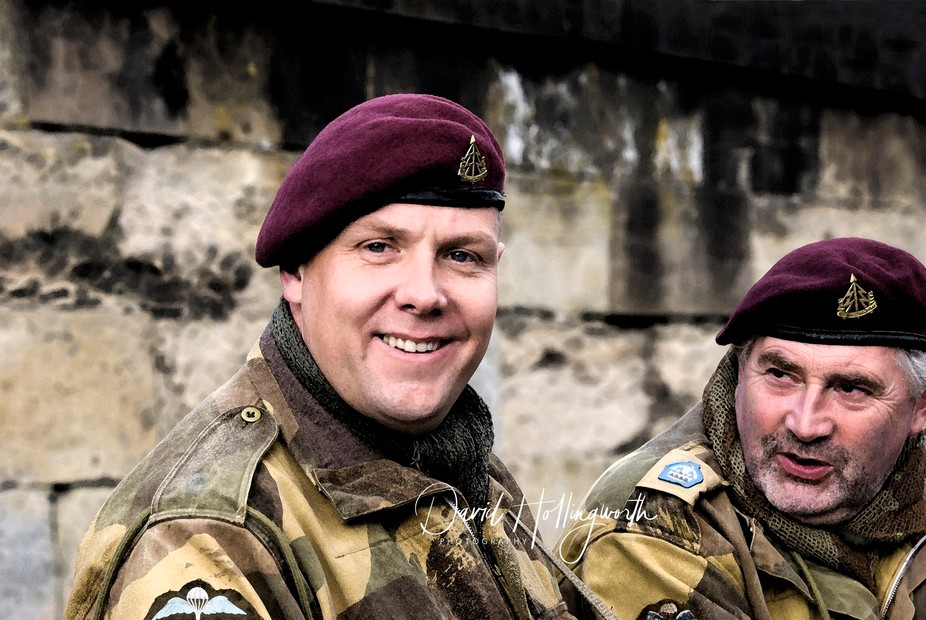 North Yorkshire Moors Railway hand over the Stations to the World War Re-enactment Society for th...