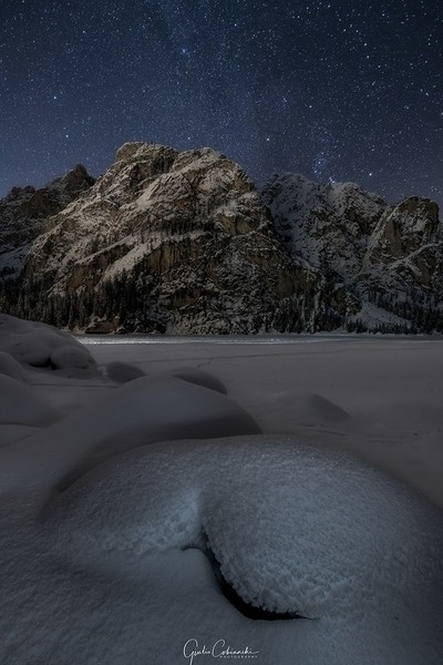 Stars and snow