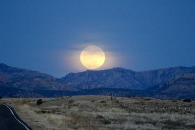 Moon over Mogollon