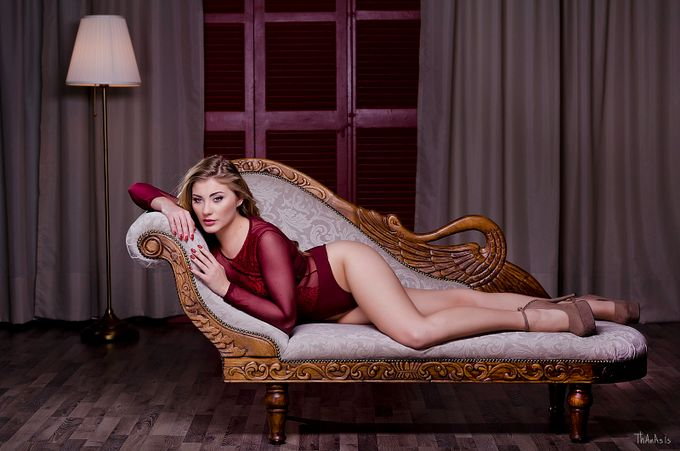 Alina by AthanasiouPhotography - My Favorite Chair Photo Contest
