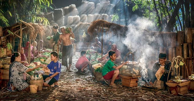 Traditional Food Market by antonb - Food Markets Photo Contest