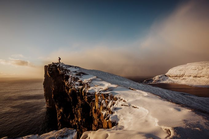 Faroe Islands in Winter by Ekkelboom-White Photography-100 by WildConnectionsPhoto - Spectacular Cliffs Photo Contest