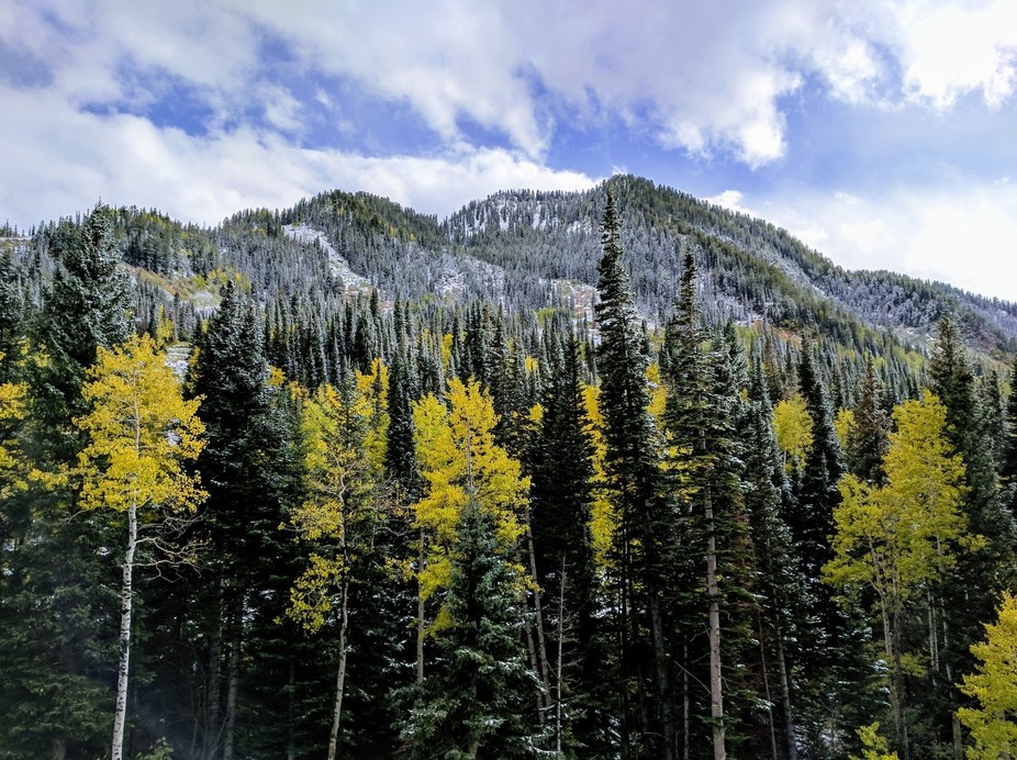 First Snow in the Utah Rockies