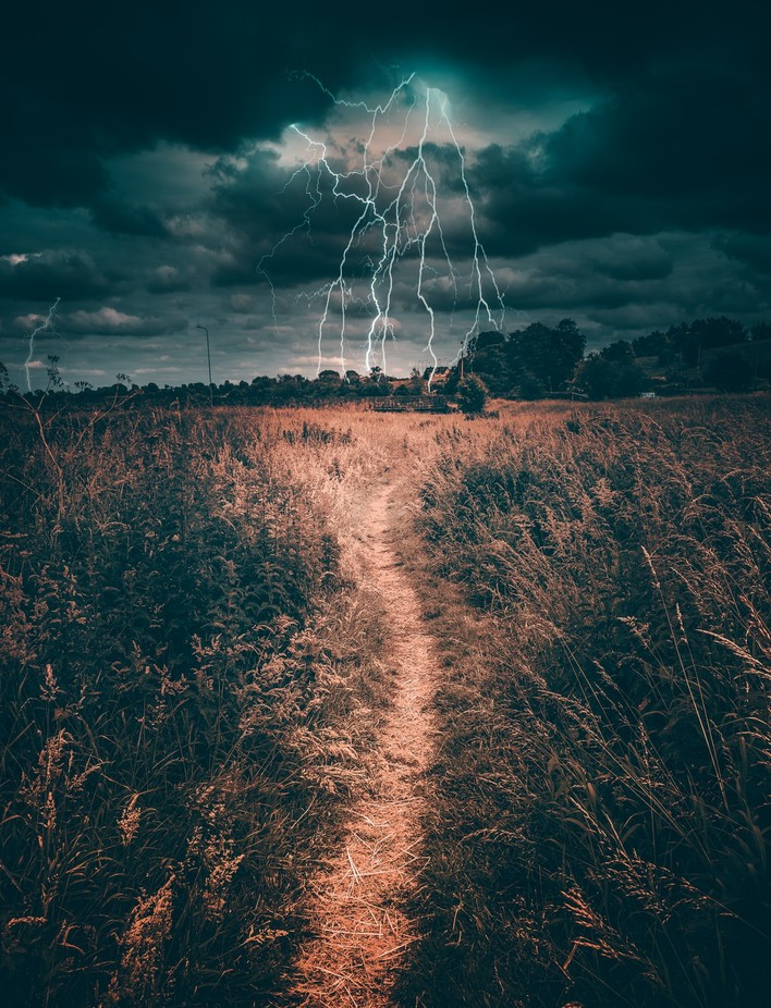field of lightning by Jbowersphotography - Composition And Leading Lines Photo Contest