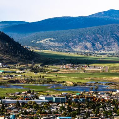 There was high water here when this picture was taken of Merritt B C