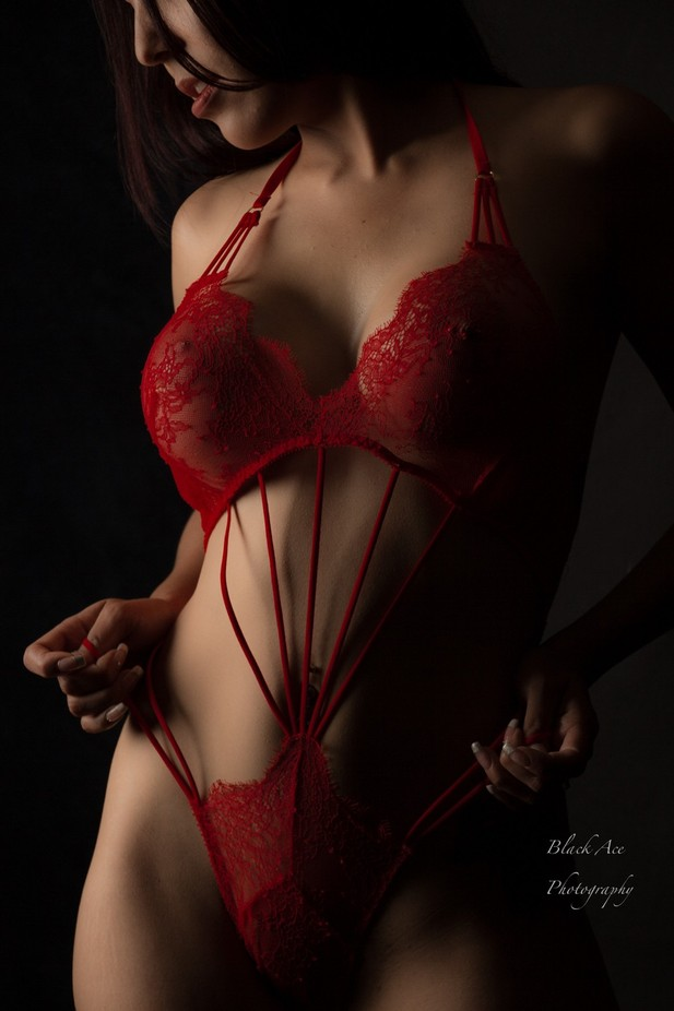 Beauty in Red by BlackAcePhotography - It Is Red Photo Contest