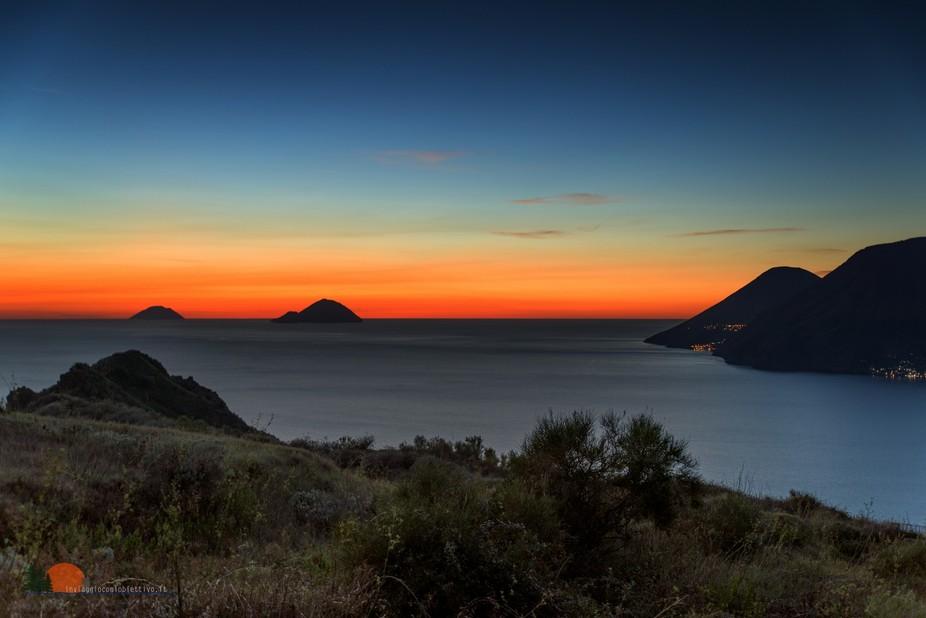 Aeolian sunset
