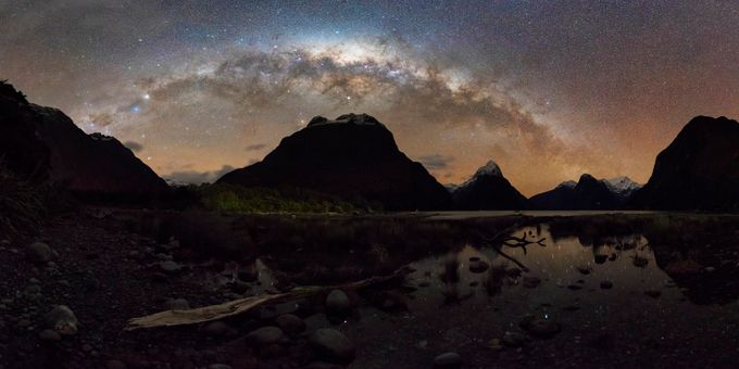 Milford Sound MilkyWay by iamcordz - The Milky Way Photo Contest