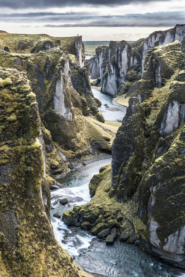 Fjaðrárgljúfur Canyon by jamesrushforth - Spectacular Cliffs Photo Contest