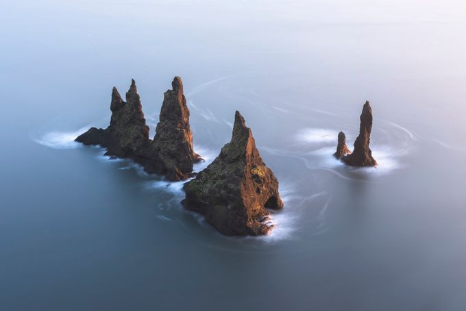 Reynisdrangar Sea Stacks by jamesrushforth