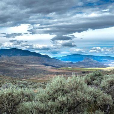 A landscape near Cache Creek B C