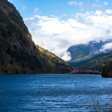 Three Valley Gap is in British Columbia on the Trans Canada Hwy between Salmon Arm and Revelstoke