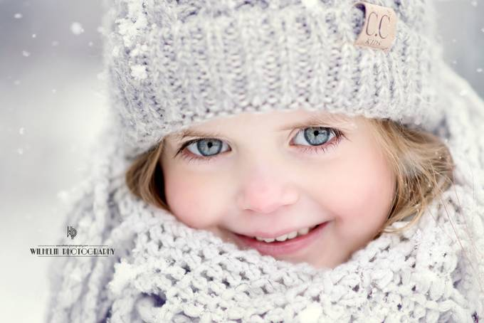 Snowy Smiles by tonyawilhelm - All Smiles Photo Contest