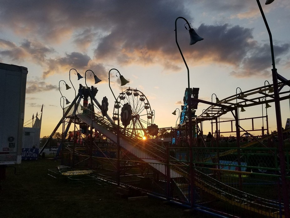 Carnival in Vermont at Dusk