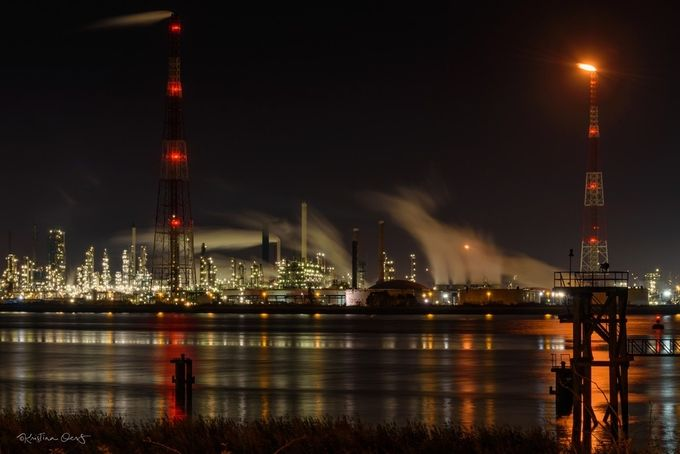 Petrochemical industry at the port of Antwerp by KristinaOers - Industry Photo Contest