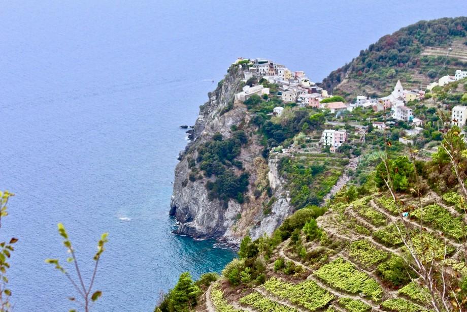 Italian village in Cinqueterre Park