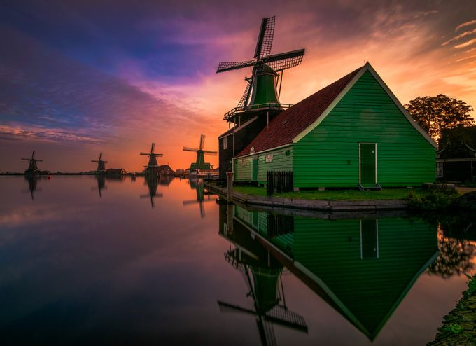Morning glory by gkossieris - Windmills Photo Contest