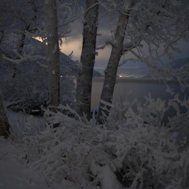 Taken at night along Nicola Lake B C